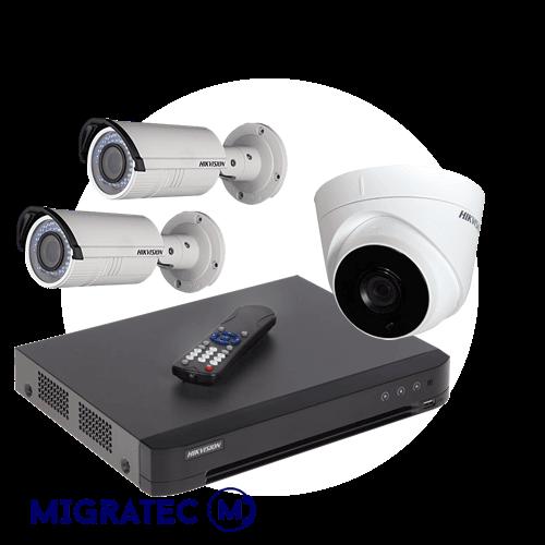 Kit video vigilancia