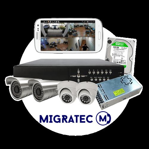 Servicios de instalación de cámaras de video vigilancia